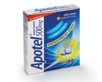 Apotel effervescent tablets (paracetamol)
