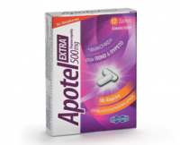 Apotel extra (paracetamol and caffeine)