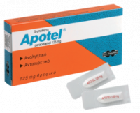 Apotel suppositories (paracetamol)