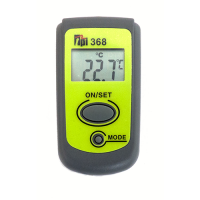 Close-focus, pocket-size infrared thermometer without laser