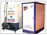 Uni-vac oil dehydration plant