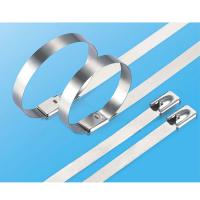 Stainless steel cable ties-wing lock type