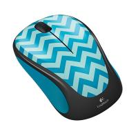 Logitech M238 Wireless Mouse  Play Collection  TEAL CHEVRON (910-004520)