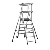 Telescopic Work Platform Fixed or Foldable Railings: Sherpascopic