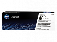 HP 83A LaserJet Toner Cartridge, Black [CF283A]