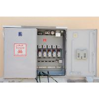 Street lighting control cabinets and light pole cut outs