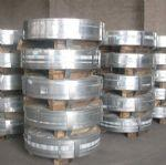 Galvanized steel strips and tapes