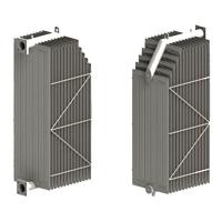Graded radiator