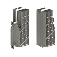 CORNER CUT SWAN NECK RADIATOR