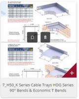 3_AMF Series Cable Tray Bends