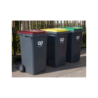 Plastic refuse containers   plastic omnium,  france