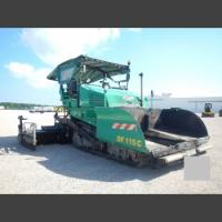 Demag Asphalt Finisher
