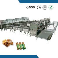 High speed row removal packaging line