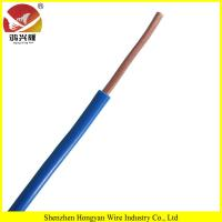 Details 300/500V Single-core PVC Insulated Electric Cable(BV, Internal Wiring)