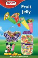 Fruit jelly jar