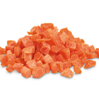 Papaya cubes