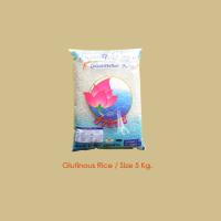 Glutinous Rice size 5kg.