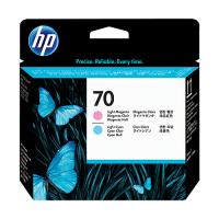 HP C9405A LT CY & LT MAG PRINTHEAD #70