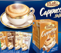 Cafe haseeb cappuccino