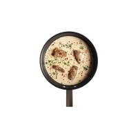 Coconut cream soup (tom kha soup)