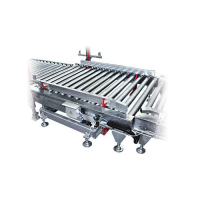 Pallet centring device