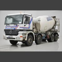 Mercedes mixer actros 3235 - 10cbm - 8x4 -liebherr