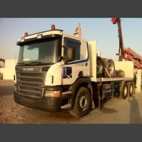 Scania Chassis Track / 6X2 / manuel / with 21 Meter Faasi Crane