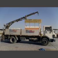 MERCEDES BENZ Truck with crane