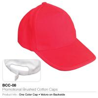 Promotional brushed cotton cap  (bcc-08)