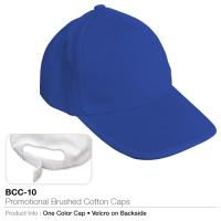 Promotional brushed cotton cap  (bcc-10)