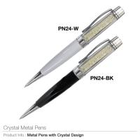 Crystal Metal Pen (PN-24)