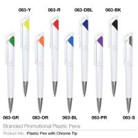 Branded Promotional Plastic Pens 063