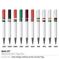 Maxema Ethic Flag Pen(MAX-ET)