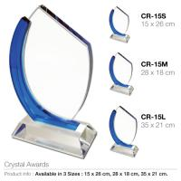 Crystal Award CR-15/S/M/L