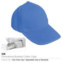 Promotional Brushed Cotton Caps (338)