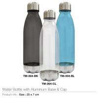 Water Bottles with Aluminum Base and Cap TM-004