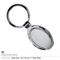 Metal keychain-20