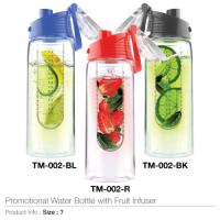 Promotional Water Bottle with Fruit Infuser -TM-002