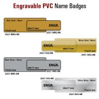 Plastic Engravable Name Tags