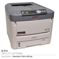 Oki c-711 wt printer