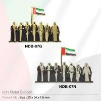 Iron Metal-Badges- NDB-07