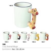 11oz Animal Mugs- 190