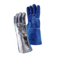 JUTEC Sebatan Leather/Aluminium Coated Glove