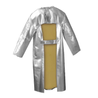 Jutec frontal heat protection coat / apron