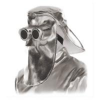 Jutec heat protection mask with flip glasses