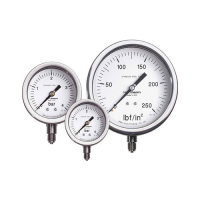Process pressure gauges