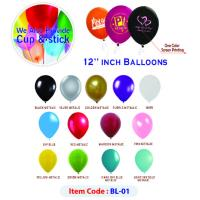 Multi color baloons