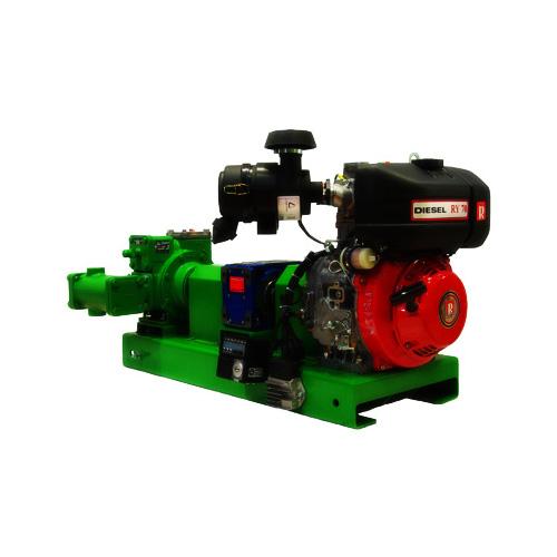 Diesel engine motor pumps