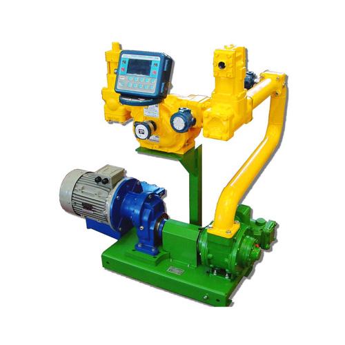 Pump metering skids