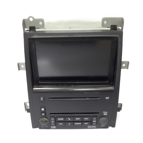 Dvd screen player cadillac 2010